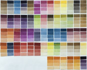 Organic Prints - Lab and Color Swatches