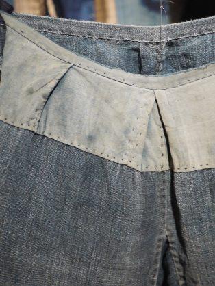 Hand-stitched trousers, Amuse Museun