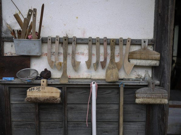 Katazome tools