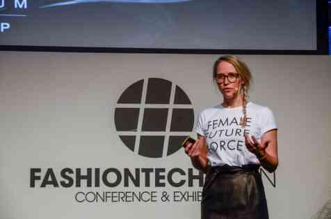 Susann Hoffmann at FashionTech Berlin