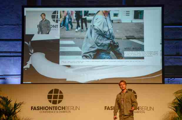 Matteo Ward at FashionTech Berlin
