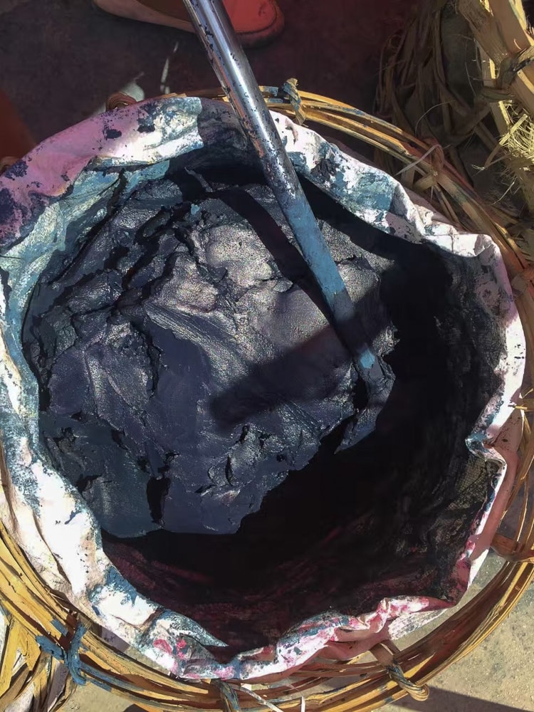 Indigo paste for dyeing