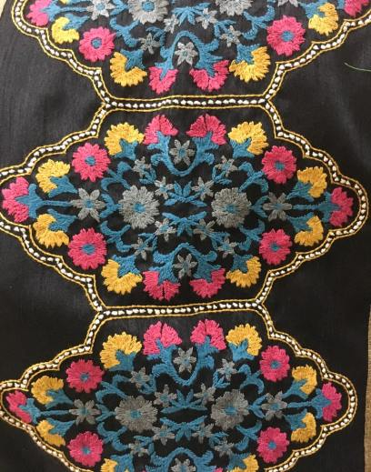 Colorful Uttara embroidery – Handmade Textiles of Bangladesh