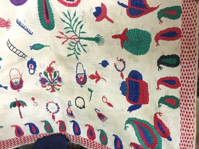 Uttara nakshi kantha – Handmade Textiles of Bangladesh