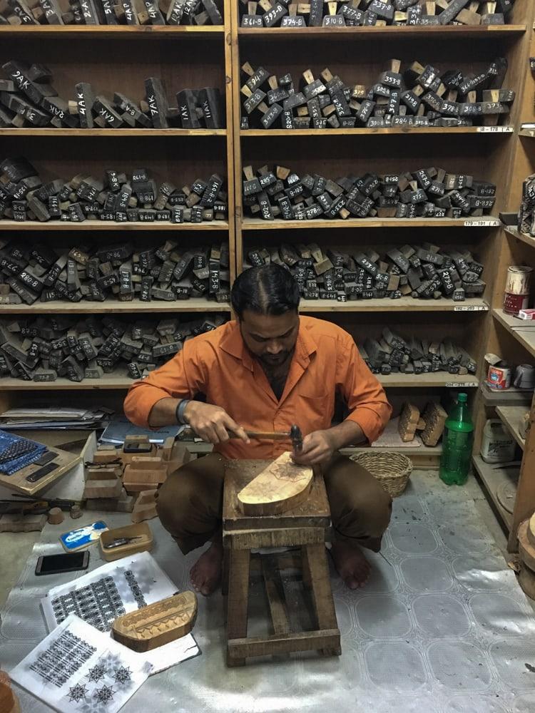 Woodblock Workshop – Handmade Textiles of Bangladesh