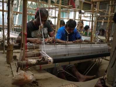 Jamdani weaving loom– Handmade Textiles of Bangladesh