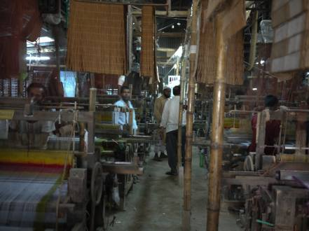 Inside Weaving factory in Sirajganj – Handmade Textiles of Bangladesh