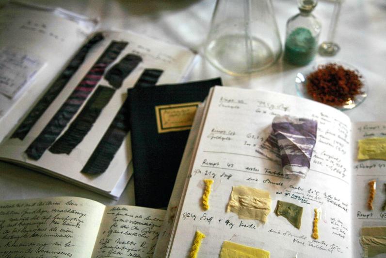 Organic Prints — Dye Notes
