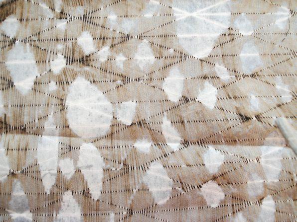 Organic Prints — Natural Dye Silk Screen Print