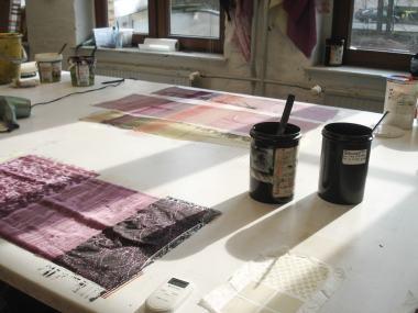 Organic Prints — dye charts