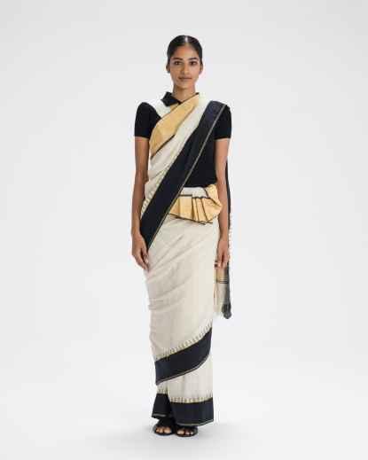 The Sari Series — Mohiniattam Drape - Kerala, India