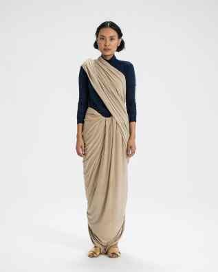 The Sari Series — Gudakattu Drape - Andhra Pradesh, India