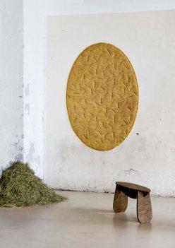 "Rug — ""Forest Wool"" — Tamara Orjola — Dutch Design Week 2017"