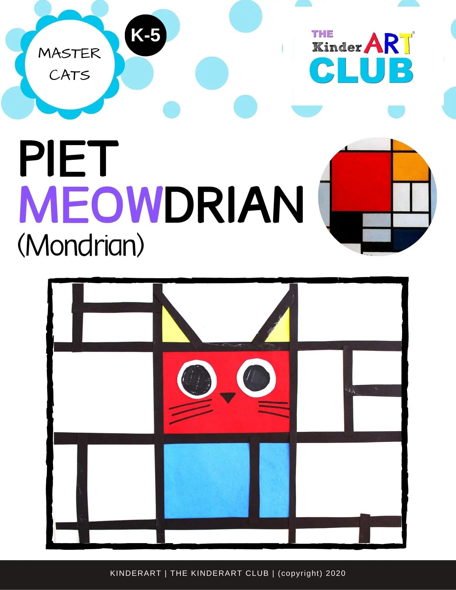 Lesson Piet Meowdrian Mondrian