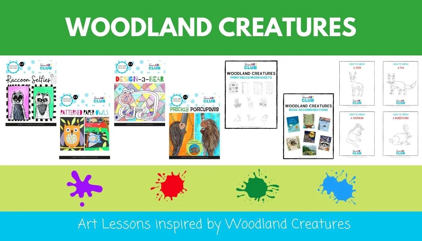 Woodland Creatures Bundle