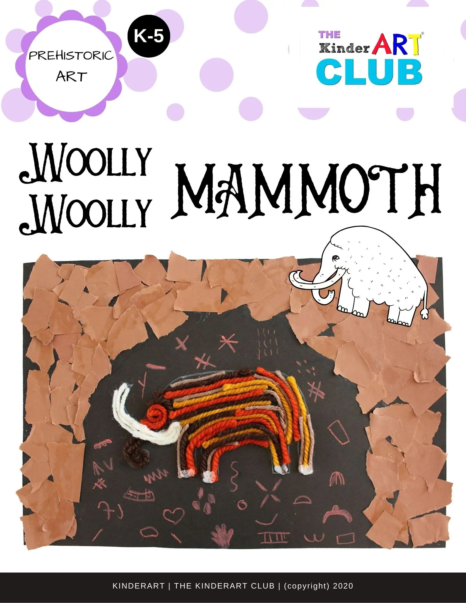 Lesson Woolly Woolly Mammoth