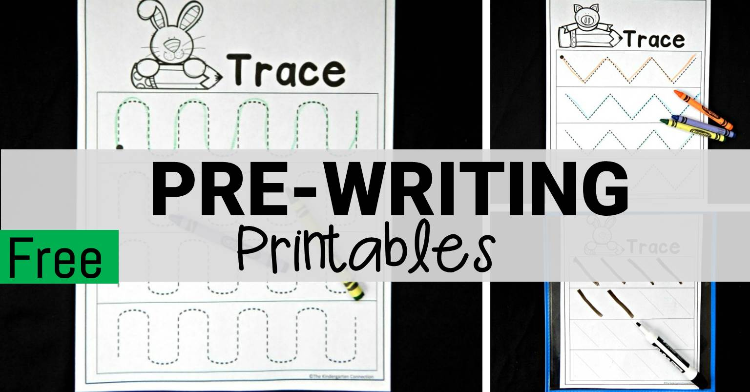Free Pre Writing Worksheets