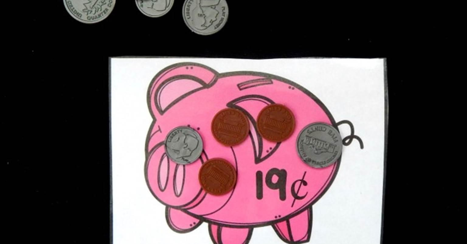 Fill The Piggy Bank