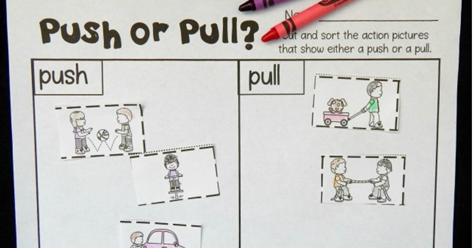 Push And Pull Activities For Preschool