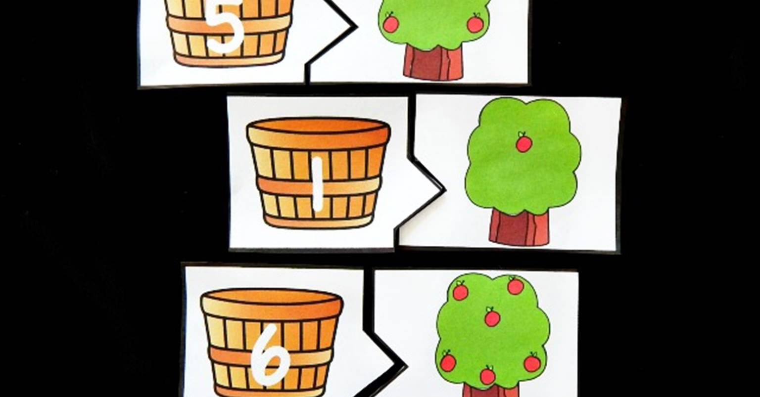 Apple Tree Counting Puzzles