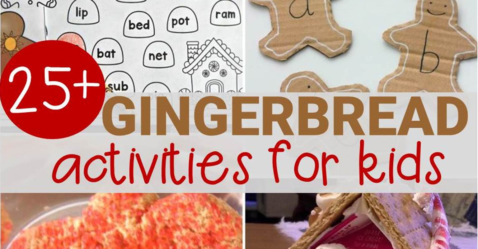 25 Engaging Gingerbread Activities For Kids