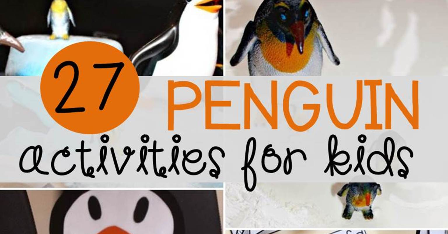 27 Super Cool Penguin Activities For Kids