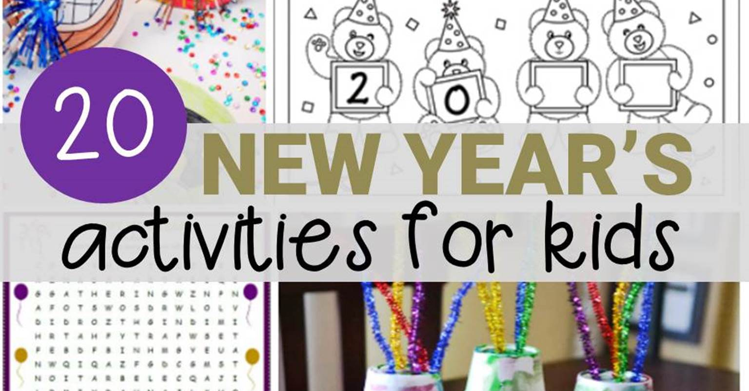 20 New Year S Activities For Kids