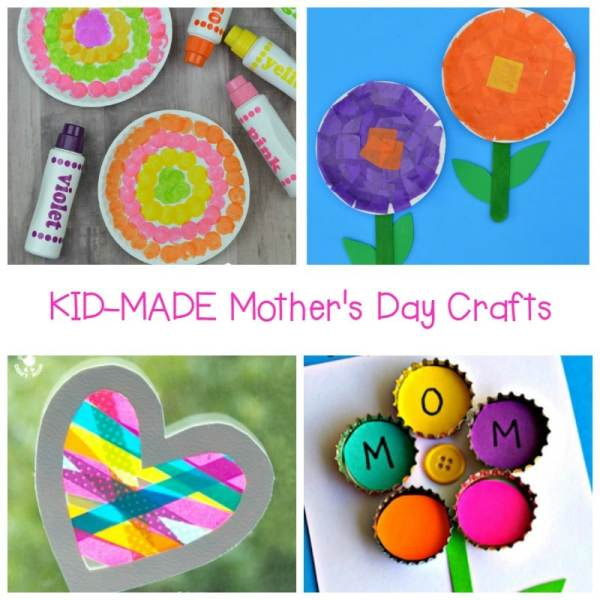 Kid- Made Mother's Day Crafts Moms Will Love!