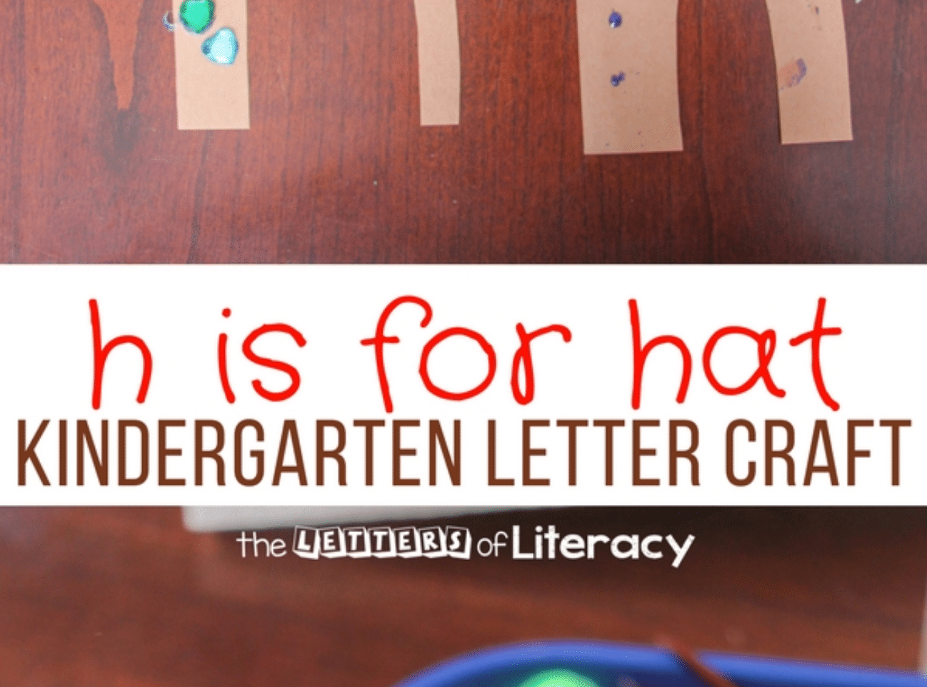 Lowercase Letter H Craft