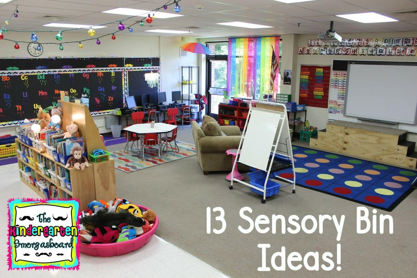 A Kindergarten Smorgasboard Of 13 Sensory Bin Ideas