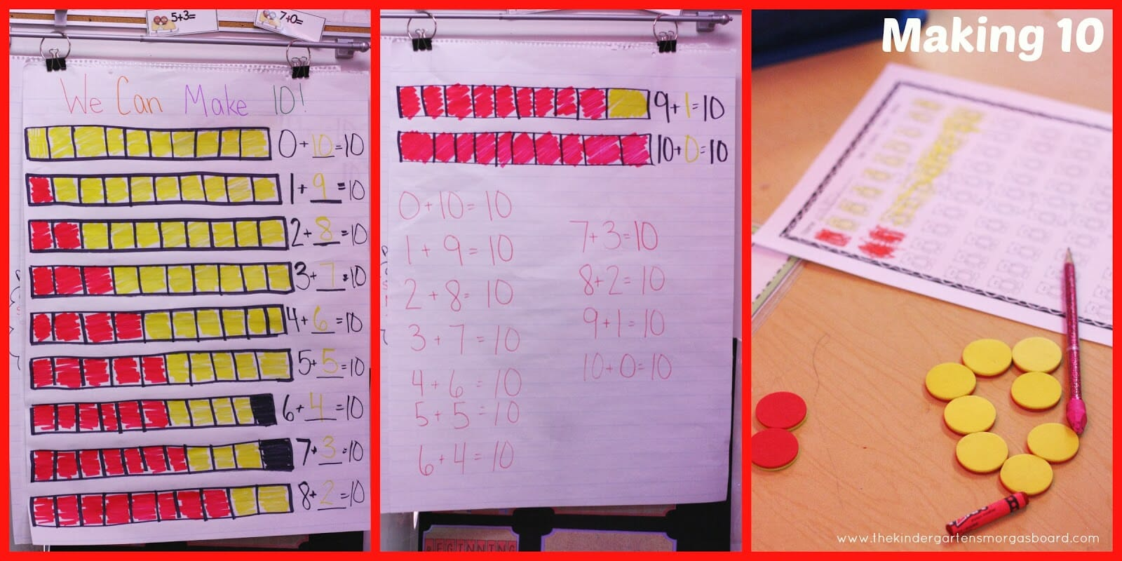 A Kindergarten Smorgasboard Schedulin Sunday