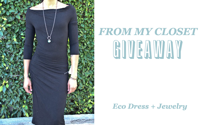 Eco dress and jewelry giveaway