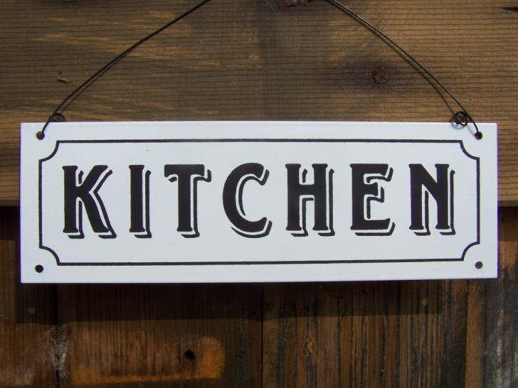 Kitchen Sign King