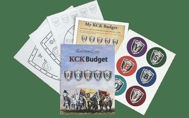 junior budget kit- the kingdom code- money management