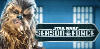 Season of the Force in Disneyland   Chewbacca 2017