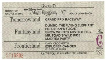 Walt Disney World Ticket Price Increases 2017 | Walt Disney World Vintage Tickets