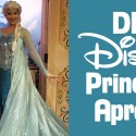 DIY Disneybounding Disney Princess Costume Aprons
