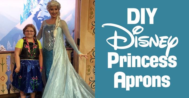 DIY Disneybounding Disney Princess Costume Aprons