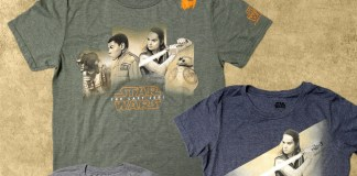 Force for Change | Star Wars The Last Jedi T-Shirts