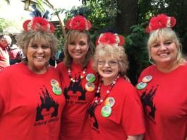 The Golden Grammas in Walt Disney World
