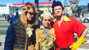 James Corden as Belle   Beauty and the Beast on Late Late Show