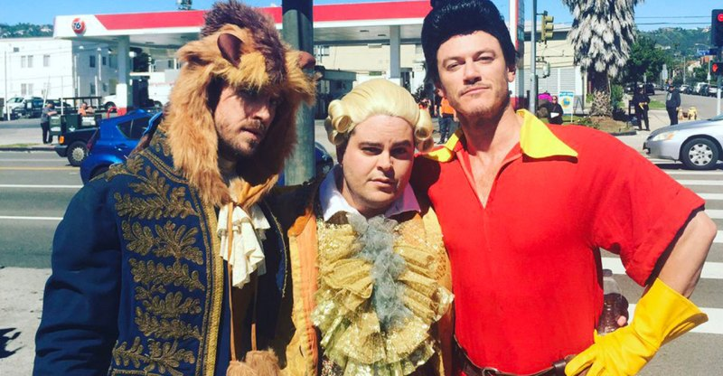 James Corden as Belle | Beauty and the Beast on Late Late Show