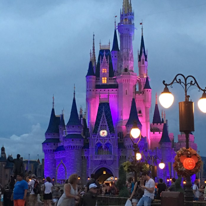 Cinderella Castle at Night | Walt Disney World