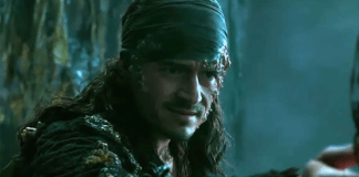 Pirates 5 - Orlando Bloom in Pirates of the Caribbean: Dead Men Tell No Tales | Will Turner is now Davy Jones