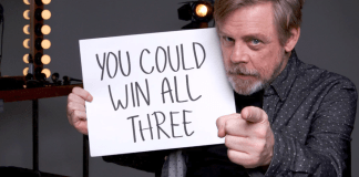 Star Wars Force for Change contest announced on Good Morning America. Mark Hamill and Daisy Ridely.