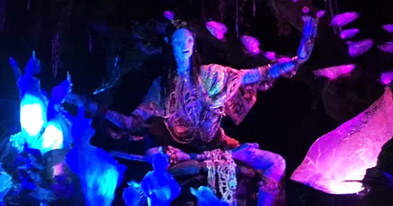 'Shaman of Songs' Animatronic MISSING from Pandora's Na'vi River Journey?