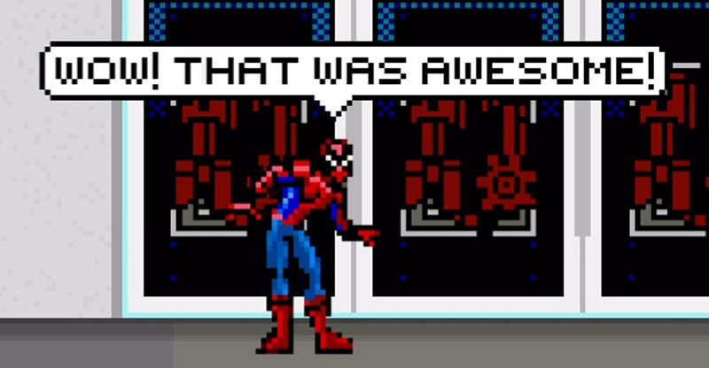 8-bit Spider-Man Homecoming Trailer - Marvel MCU