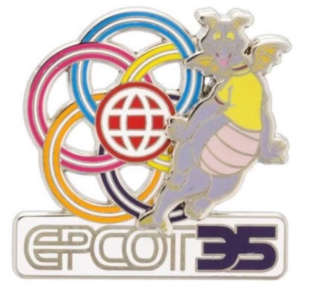 Epcot-35th-Anniversary-Figment-Pin