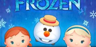 September 2017 Frozen Event on Disney Tsum Tsum App