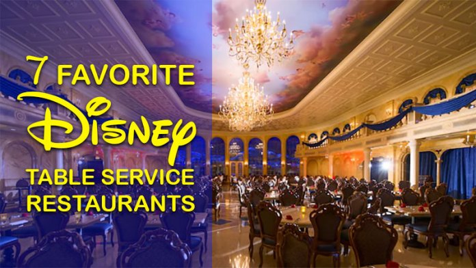 Of Our Favorite Walt Disney World Table Service Restaurants The - Table service restaurants